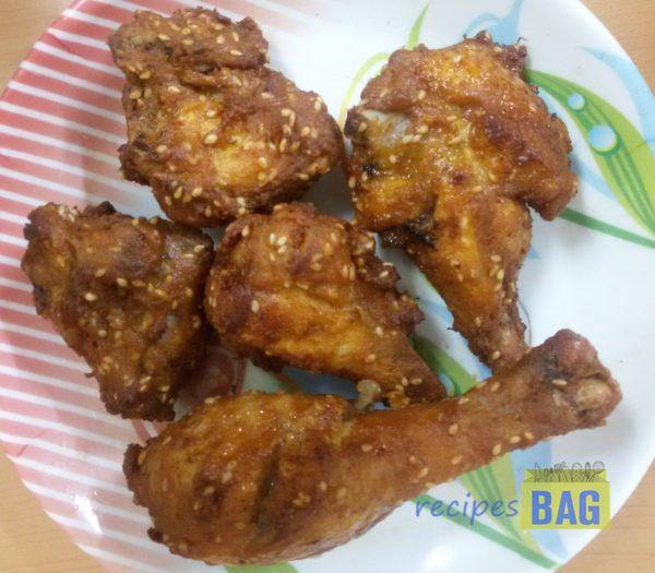 Sesame Chicken / Til ka Chicken