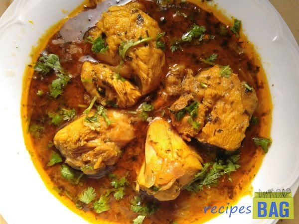 Methi Chicken / 15 minutes chicken gravy / Fenugreek chicken