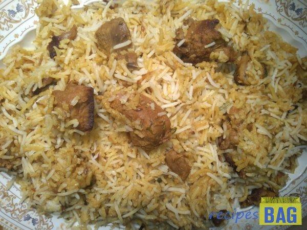 Nizami Mutton biryani / Hyderabadi Shahi Biryani in 4 simple steps.
