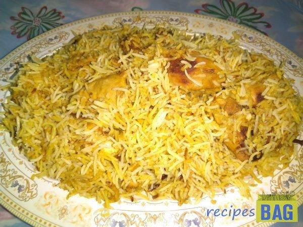 Nizami chicken biryani /   Hyderabadi Nizami Biryani