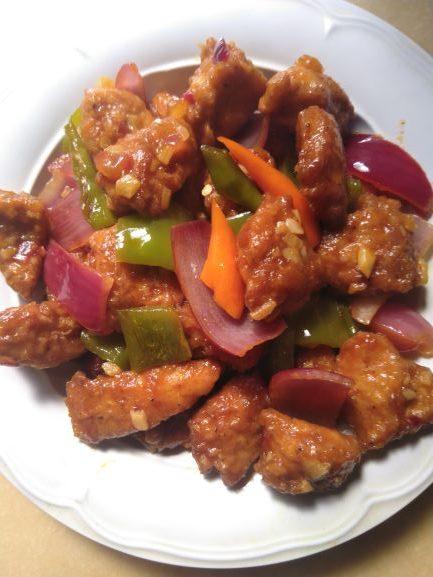 Chilli Chicken Recipe / Restaurant style chilli chicken Dry